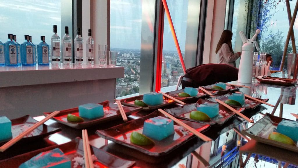 mixologyevents-Sushi Samba-Blue Jelly Margahritas-cocktail-bar hire-london-02