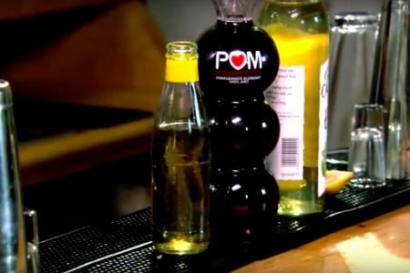 Bespoke cocktail design and mobile cocktail bar for POM