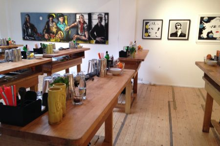 Cocktail Making Classes at Gallery Different, Fitzrovia