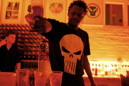 Mobile Cocktail Bar Halloween Party in Shoreditch, London