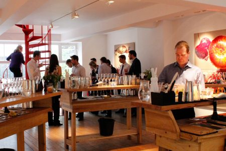 Molecular Mixology Cocktail Making Classes at the Rebecca Hossack Gallery in Fitzrovia, central London