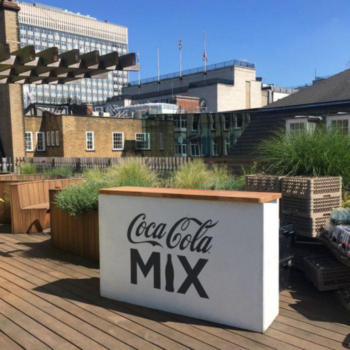 Mobile Bar Hire for Coca Cola