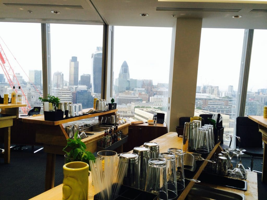 Cocktail Making Classes at The Shard
