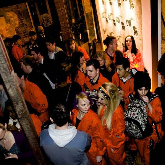 Cocktail Bar Hire for E4's Misfits Premier