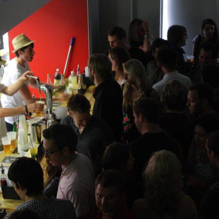 Cocktail Bar Rental for Wieden + Kennedy