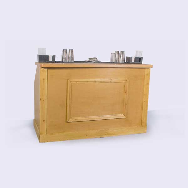 Mobile Cocktail Bar – Wooden Panelled Bar