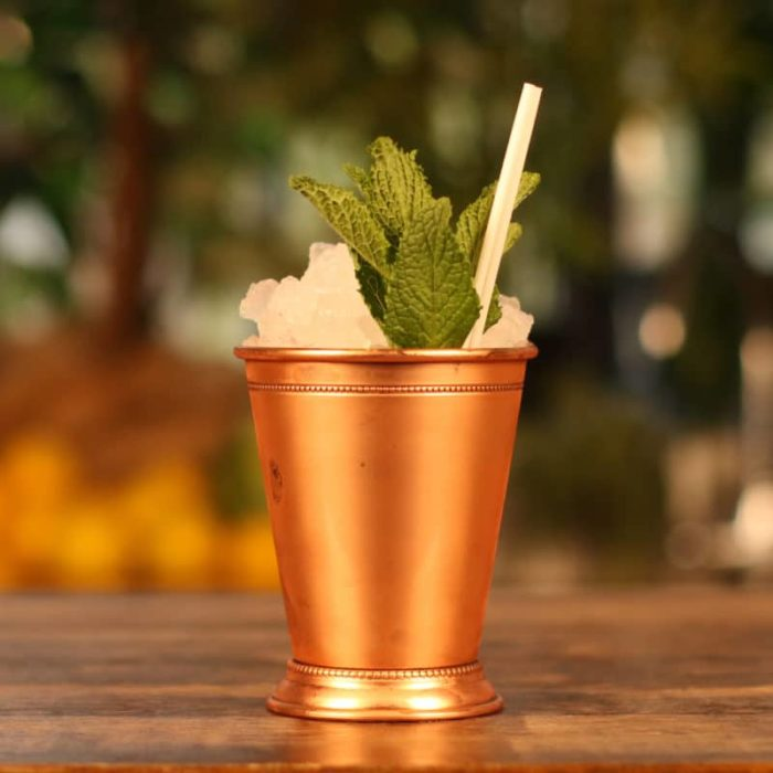 Non-Alcoholic Georgia Mint Julep